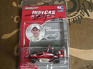 Dan Wheldon autographed 2005 Indianapolis 500 winning car...